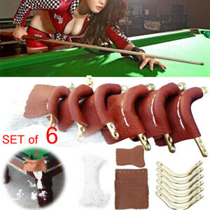 6Pcs-Leather-Pool-Snooker-Billiards-Table-Pockets-Leather-Nets-Protect-Ball-Set