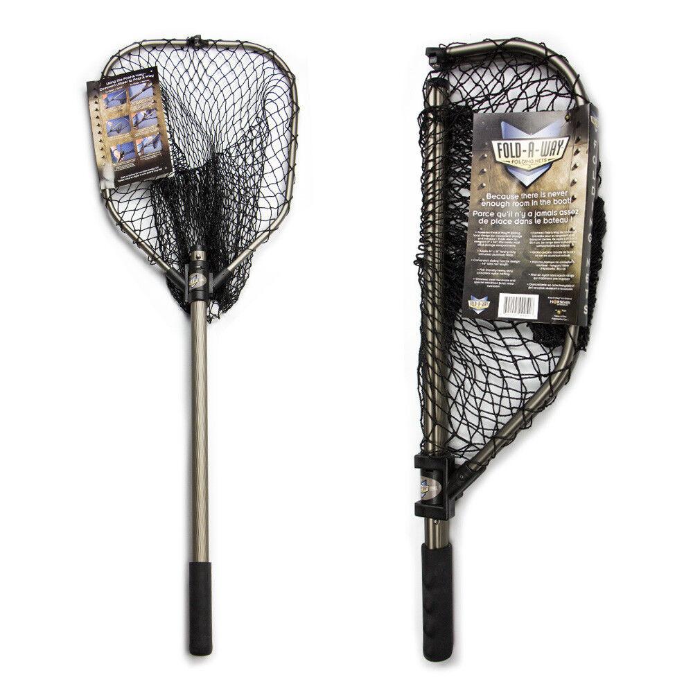 nuovo Norsemen STOWMASTER 40″ FoldAWay Leing Net with 14″ x 18″ hoop