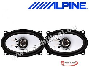 Speakers Alpine coffers for DAEWOO MATIZ 99-05 from 10cm 2 ways car coassia