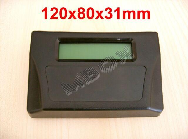 MDT-65B ABS Plastic Box Sloped Desktop Enclosure Case (2X16 LCD Compartment)