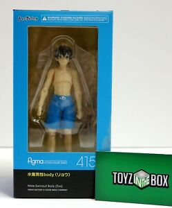 Ryo figma Swimsuit Male Body TYPE2 Non-scale ABS /& PVC Painted movable figure