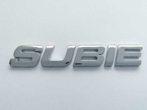SUBIE 3D Emblem Badge Letter Number alphapet logo car truck