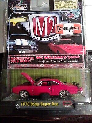 M2 Detroit Muscle Target Exclusive 1970 Dodge Super Bee 383 TGS01 2015 PURPLE