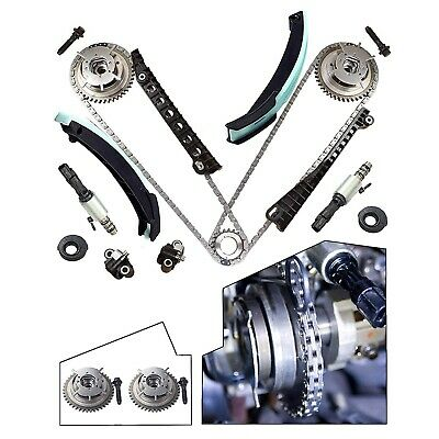 5.4L Ford Lincoln Triton Timing Chain Kit+Phasers+VVT Valves+Gaskets