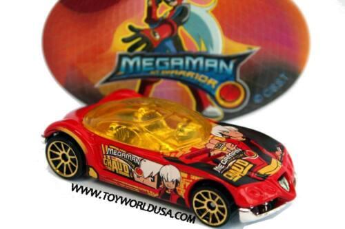 2004 Hot Wheels Megaman NT Warrior Golden Arrow