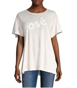 Wildfox Couture Women Vintage NEED MORE ROSE ALL DAY T-SHIRT Tee Top XS S M L