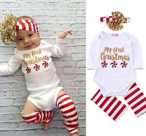 c68697e07 MY FIRST 1st NAVIDAD tutú bebé niña PELELE SET Recién nacido vestido ...