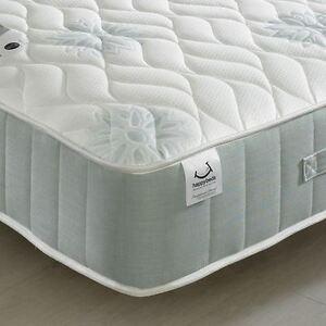 Image Is Loading Hy Beds New Sensation 1200 Velour Fibre Mattress