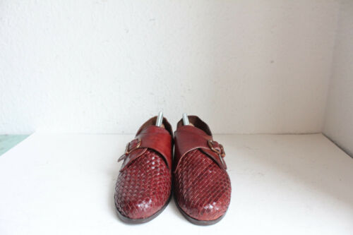 marrone Vintage Monk Donne Shoes La in Monk vera Eu senza 38 scatola Nuovo 5 Amore pelle rzqrd