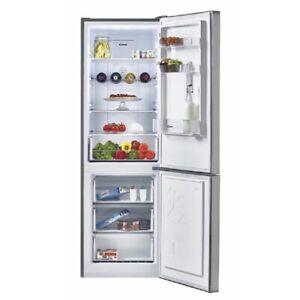 Dettagli su Candy CMNV6182X Frigoriferi/Congelatore 317L Acciaio Inox a +  Nofrost