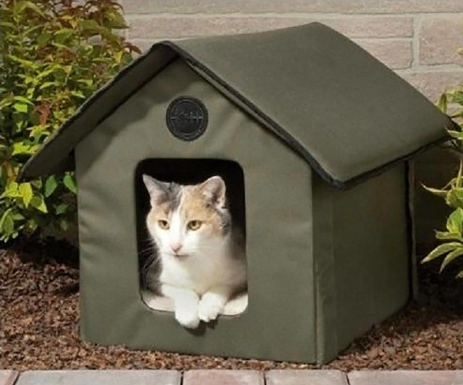 K&H Outdoor Thermo Heated Kitty House wRemovable LectroSoft Heated Floor NEW