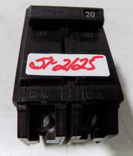 GENERAL ELECTRIC 20A 120//240VAC 2P HI-Q CIRCUIT BREAKER THQL2120