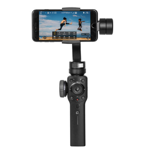 Express Post Zhiyun Smooth 4 Black Gimbal Stabilizer For Smartphones Camera