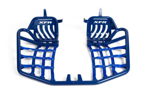 XFR Pro Peg II Foot Peg Nerf bars Heel Guards Yamaha YFZ450 YFZ 450 Vibrant BLUE
