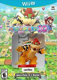 Mario Party 10 Bowser Nintendo Wii U 2016 For Sale Online Ebay