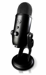 Blue-Yeti-USB-Microphone-Streaming-amp-Recording-Mac-PC-Pro-Mic-Blackout-Edition