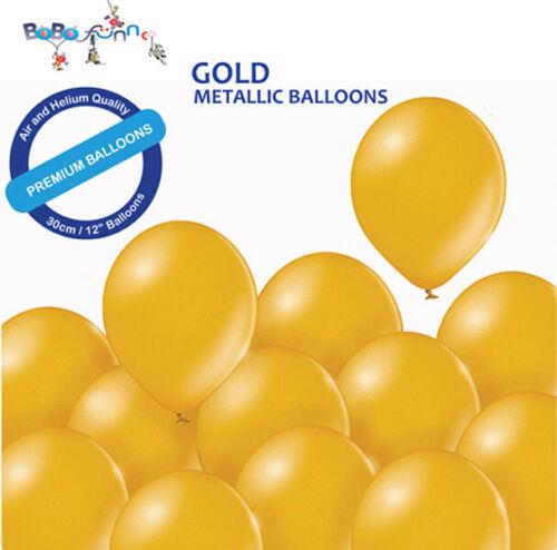 50 Personalized Custom Printed Balloons Metallic Shiny Colours Helium Quality