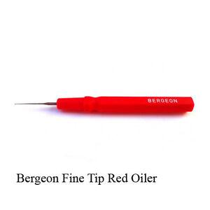 BERGEON 30102-N VERY FINE TIP BLACK HANDLE OILER WATCHMAKERS