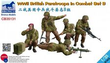 Bronco 1/35 WWII British Paratroops In Combat Set B # CB35131