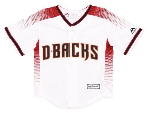 White Majestic MLB Baseball Toddlers Arizona Diamondbacks Home Jersey