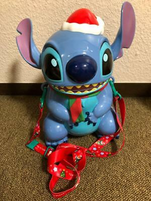 Disney Stitch Christmas Popcorn Bucket Tokyo Disney Resort TDR Japan Limited