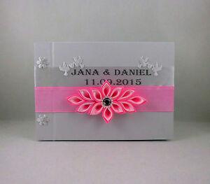Libro Degli Ospiti Matrimonio Gästealbum IN Molti Colori