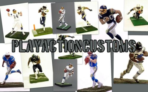 Chargers Custom Mcfarlane figure Los Angles NFL LA Choice of 1 San Diego L.A