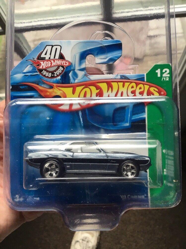 Hot Wheels Super Treasure Hunt 69 Camaro (tarjeta corta) envío vvhtf INS