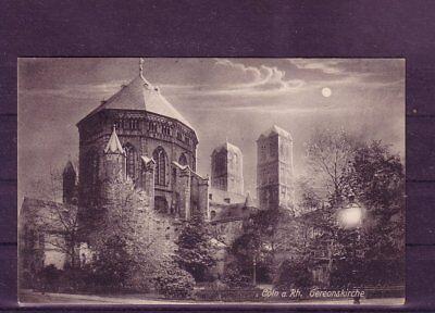 europa:11367 Zahlreich In Vielfalt Gelaufene Ansichtskarte Köln gereonskirche..-