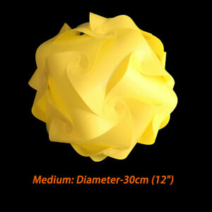 Bzwoyk 30 PCS Modern IQ Puzzle Jigsaw Light Lamp Shade Ceiling Lampshade 25-40cm