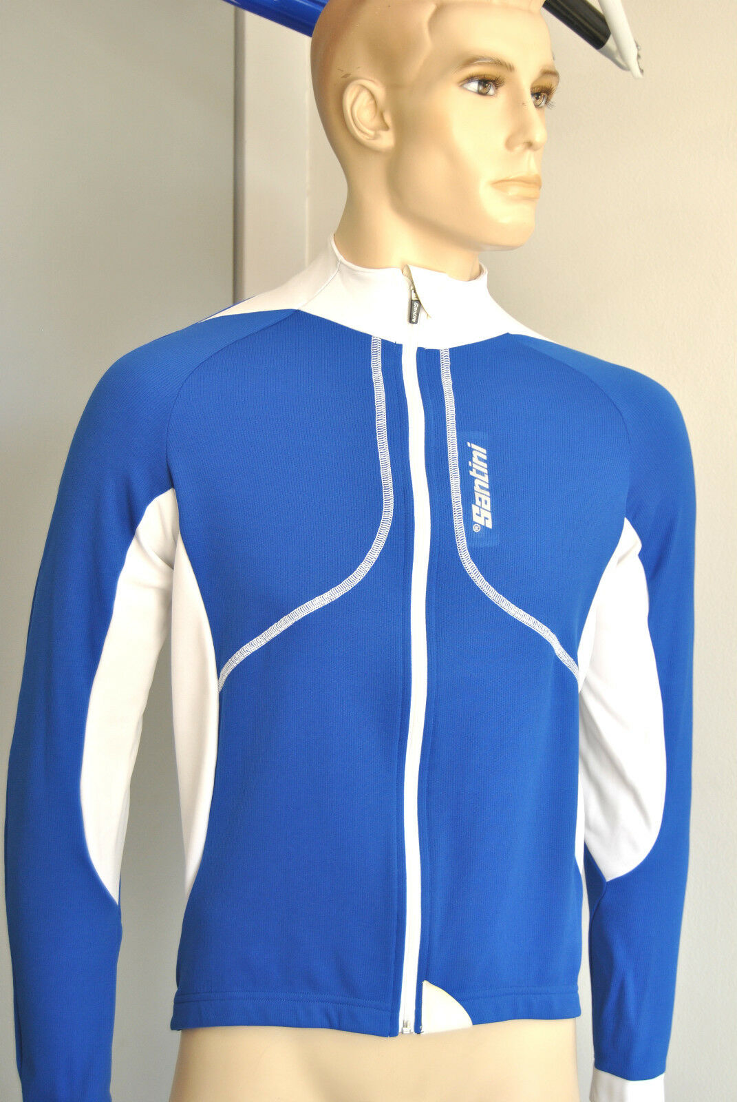 Lange Ärmel Santini Kol. Royal   Jersey Long Sleeves Santini