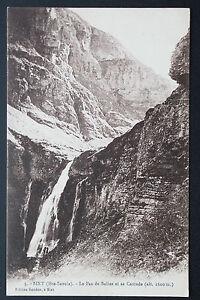 Tarjeta-Postal-Antigua-1915-Sixt-El-Paso-De-Sala-Y-Su-Cascade