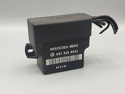 One New Huco Diesel Glow Plug Relay 132032 for Mercedes MB
