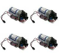 (4) Shurflo 12v Volt Demand Water Pumps Camper Rv Trailer Motorhome Boat