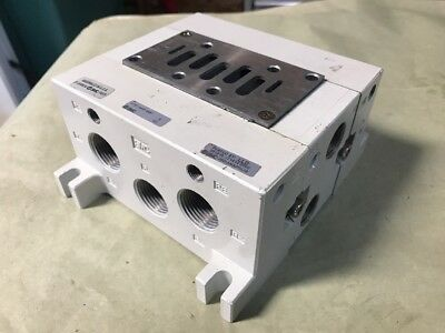 for Series Vq7-8 Manifold Axt512-9A Iso Size 2 Smc Axt512-9A Blank Plate