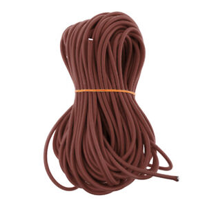 6mm Strong Elastic Bungee Shock Cord Rope Stretch String DIY for Marine Boat
