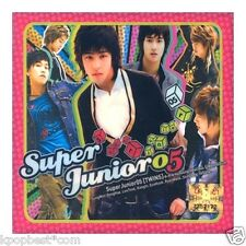 Super Junior - SuperJunior05 (1st Album) CD+Gift Photo