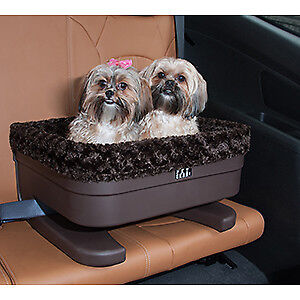 Pet Gear Inc 16 Inch Bucket Booster Car Seat for Dogs /& Cats w// Chocolate Insert