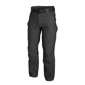 Discipliné Helikon Tex Urban Tactical Pants Utp Ripstop Robuste Pantalon Noir 34/30 Large Short-afficher Le Titre D'origine Surface LustréE
