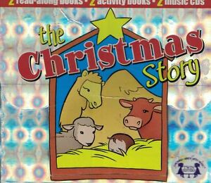 The-Christmas-Story-2-Music-CDs-2-Read-Along-Books-amp-2-Activity-Books