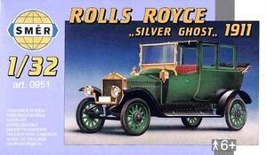 ROLLS-ROYCE-039-ARGENTO-fantasma-039-1911-1-32-SMER-RARO