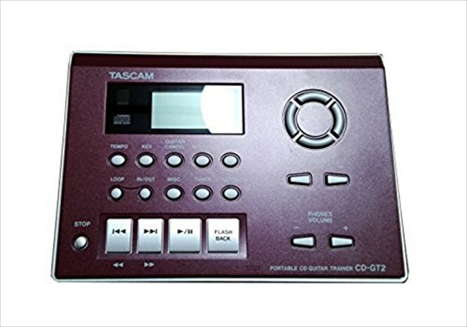 Tascam CD-GT2 Tragbare Gitarre Trainer Speed Playback Integrates Fx