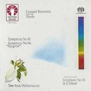 LEONARD BERNSTEIN COND. HAYDN • Symph. Nos. 93, 94 & 95  [SACD Hybrid Multi-ch]