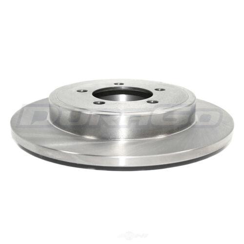 Disc Brake Rotor Rear Parts Master 125759