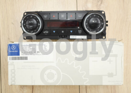 Genuine Mercedes Benz NEW Air Conditioning AC Climate Control A2038303685