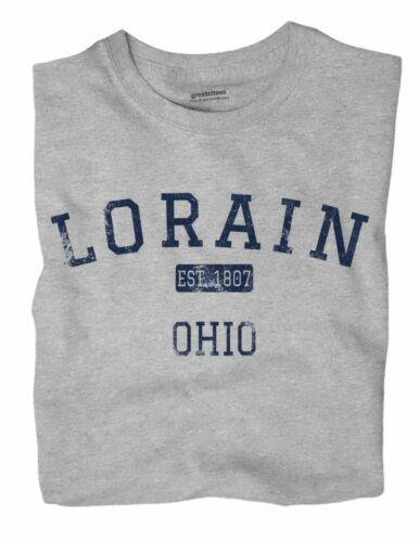 Lorain Ohio OH T-Shirt EST
