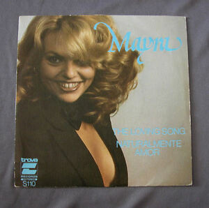 Vinilo-SG-7-034-45-rpm-MAYRA-THE-LOVING-SONG-NATURALMENTE-AMOR-Record