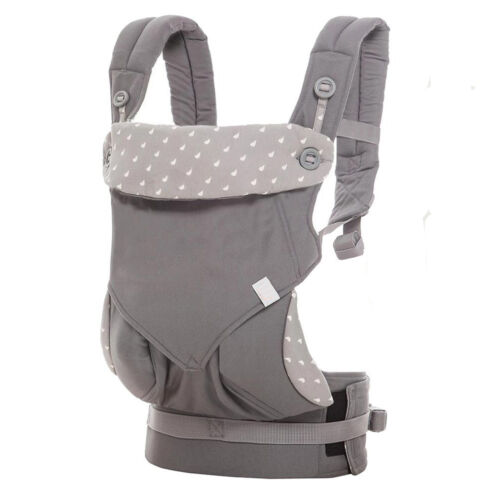 Baby Infant Safety Ergo Carrier 360 Four Position Breathable Baby Lap Strap EM88