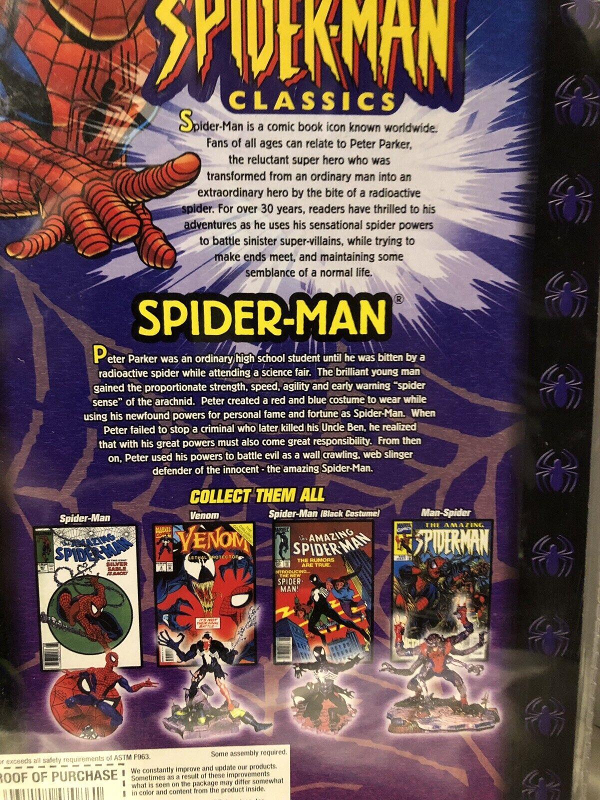 Spider-Man Classics 6  Spider-Man Figure Marvel ToyBiz 2000 2000 2000 1d9874