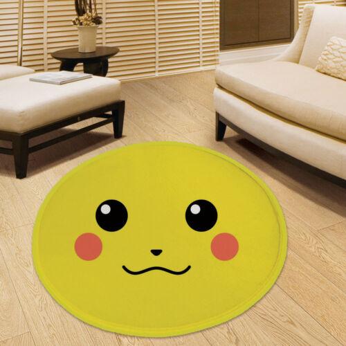 Pokemon GO Anime Manga Cute Velboa Floor Rug Carpet Room Doormat Non-slip Mat
